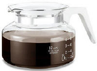 One All GL200 12 Cup Traditional Style Replacement Coffeemaker Carafe