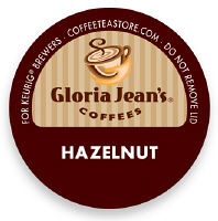 Gloria Jeans Hazelnut Coffee K-Cup