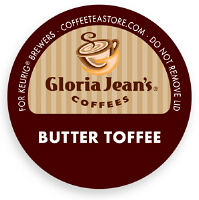 Gloria Jeans Butter Toffee Coffee K-Cup