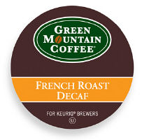 Green Mountain French Roast Decaf Coffee K-Cup