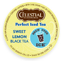 Celestial Perfect Iced Tea w Sweetened Lemon K-Cup