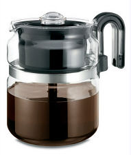 One All PK008 8-Cup Glass Stovetop Percolator